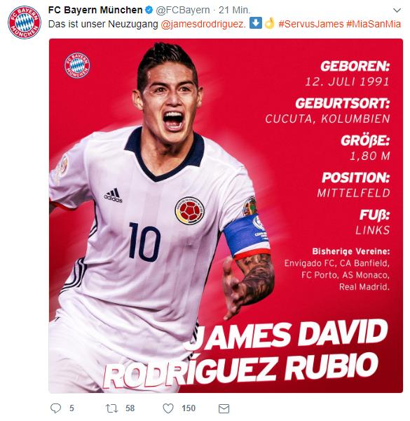 James Bayern Fail (correct)
