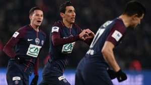 Angel Di Maria PSG Marseille Coupe de France 28022018