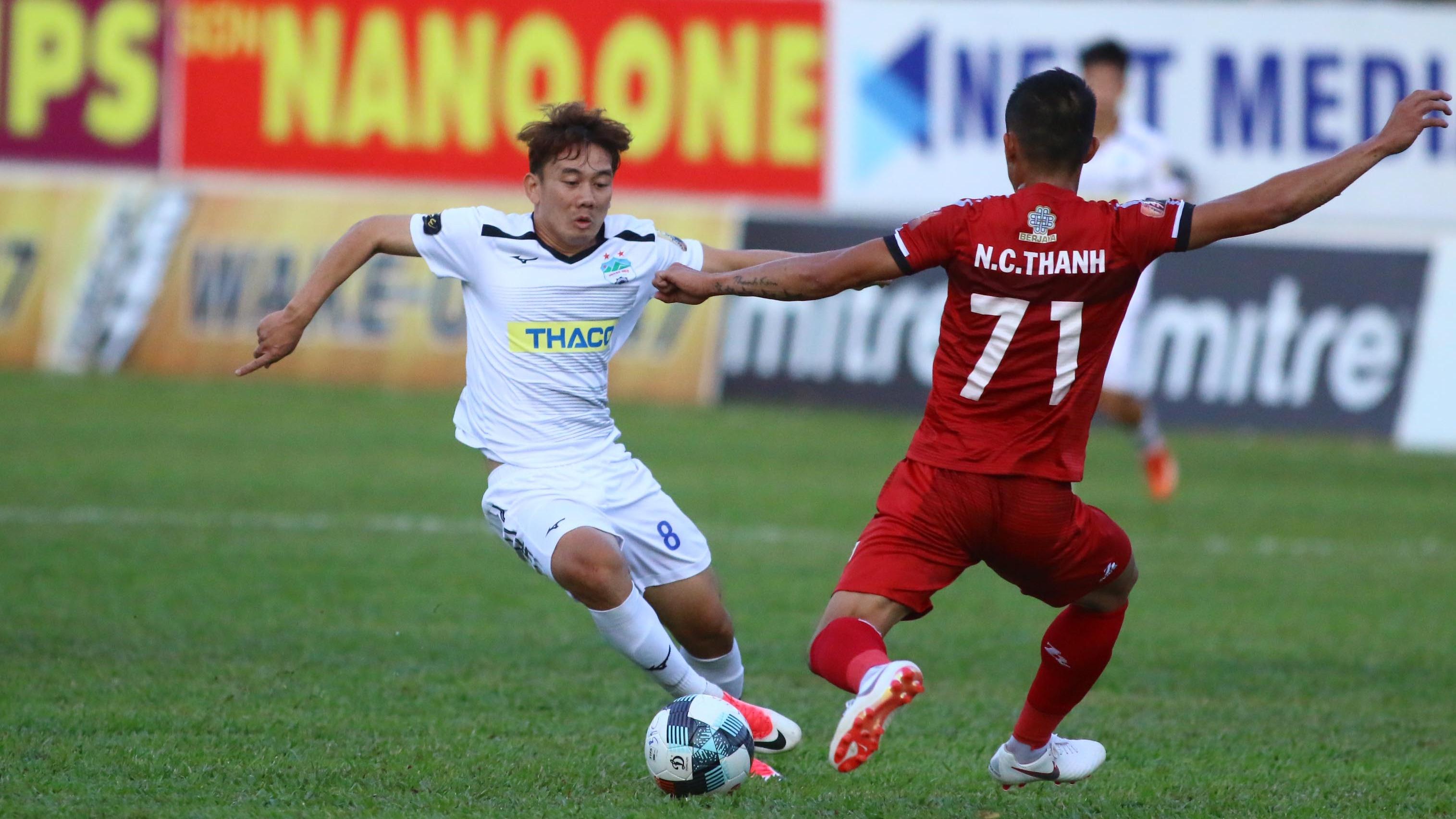 Kim Bong-jin HAGL Ho Chi Minh City V.League 2019