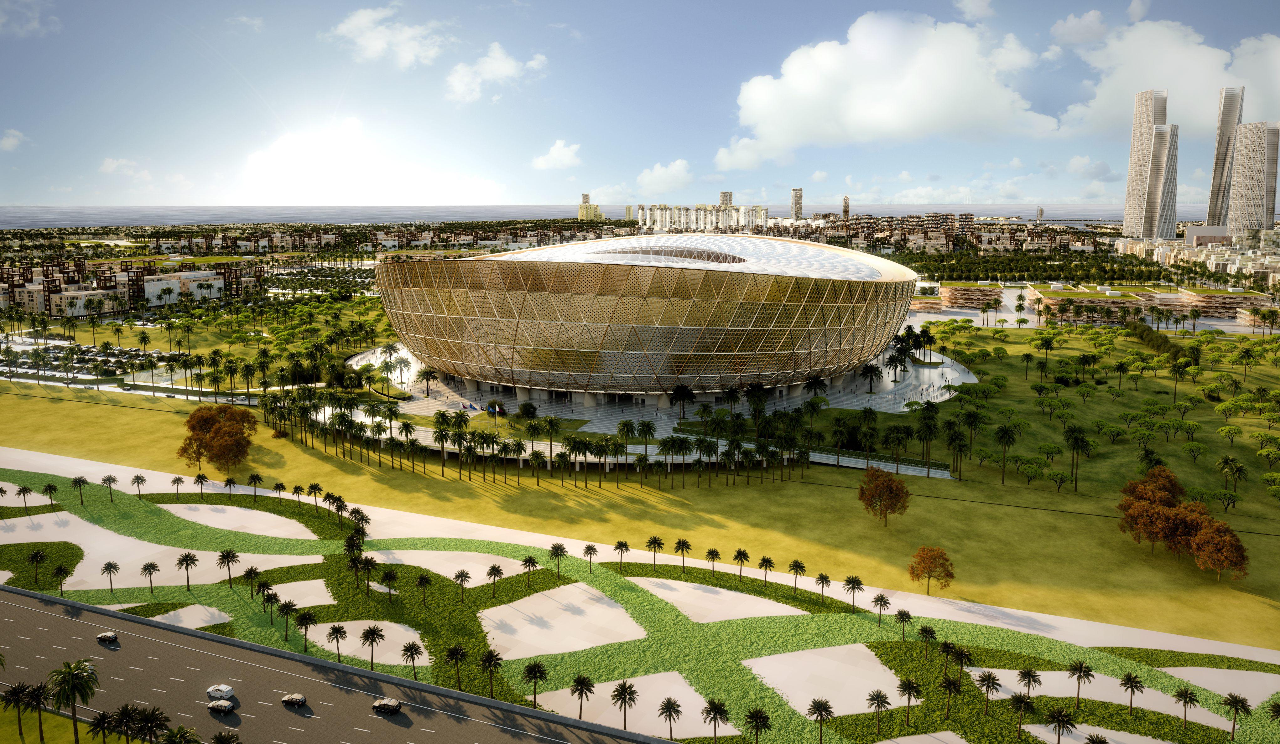 Qatar unveils Lusail Stadium