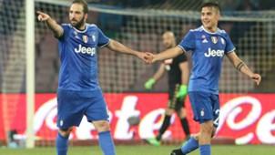 Gonzalo Higuain Paulo Dybala Napoli Juventus