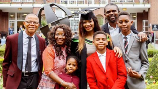 Kanu Nwankwo family