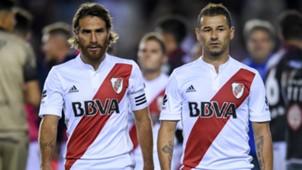 Leonardo Ponzio Rodrigo Mora Lanus River Plate Superliga Argentina 11022018