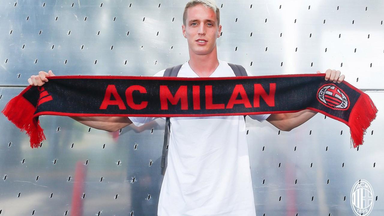 """Conti si svela al Milan: """"Dani Alves il mio idolo, Del Piero il mito"""""""