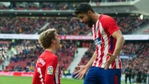Antoine Griezmann Diego Costa Atletico Madrid Celta Vigo La Liga