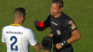 Fernando Tobio Expulsion Rosario Central Godoy Cruz Copa Argentina 23102017