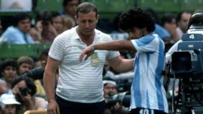 Maradona Argentina Brazil 1982