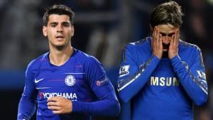 Alvaro Morata Fernando Torres Chelsea