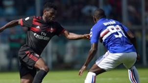 Franck Kessiè Duvan Zapata Sampdoria Milan Serie A