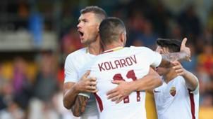 Edin Dzeko, Aleksandar Kolarov, Roma, Serie A, 20092017