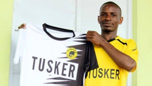 Tusker sign Michael Madoya.