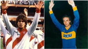 Batistuta River Plate Boca Juniors