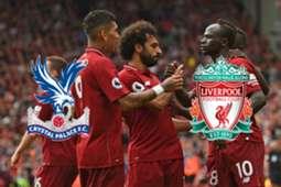 Crystal Palace FC Liverpool Premier League