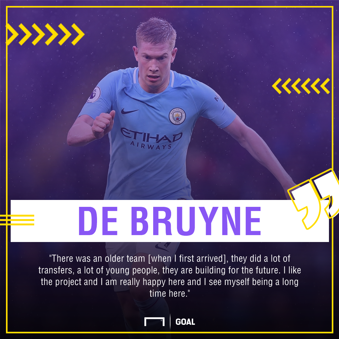Kevin De Bruyne Manchester City long stay