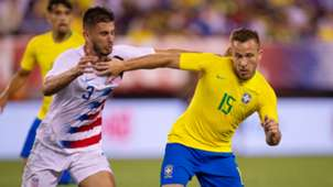 Arthur Matt Miazga USA Brazil Friendly 07092018