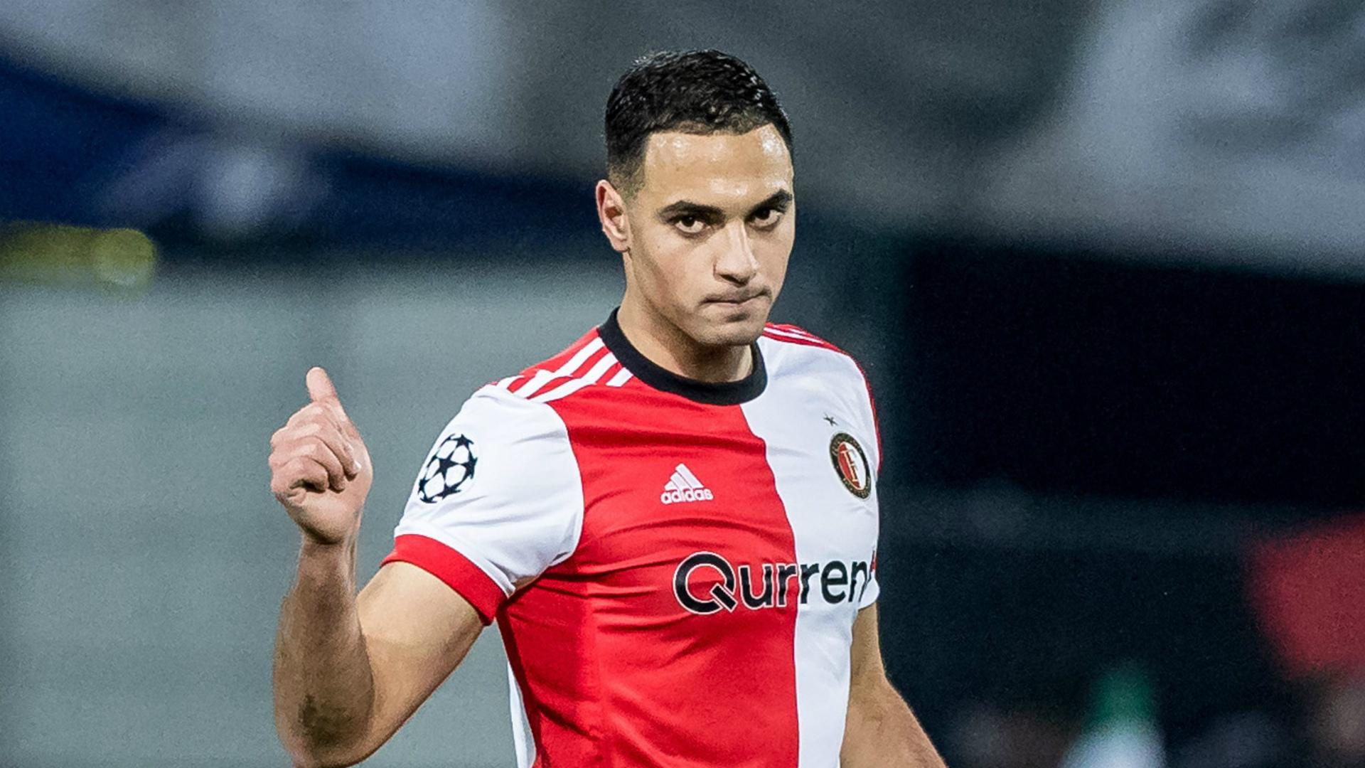 Sofyan Amrabat, Feyenoord - Napoli, Champions League 12062017
