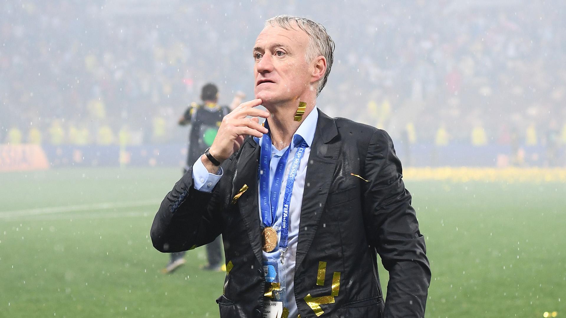 Didier Deschamps France World Cup champions 15072018