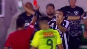 Print Marcinho Vermelho Botafogo Defensa