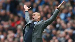 Pep Guardiola Manchester City Leicester City
