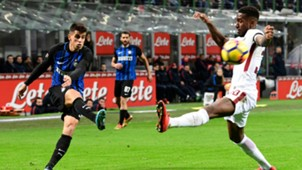 Joao Cancelo Gerson Inter Roma