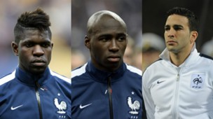 collage France Umtiti Mangala Rami