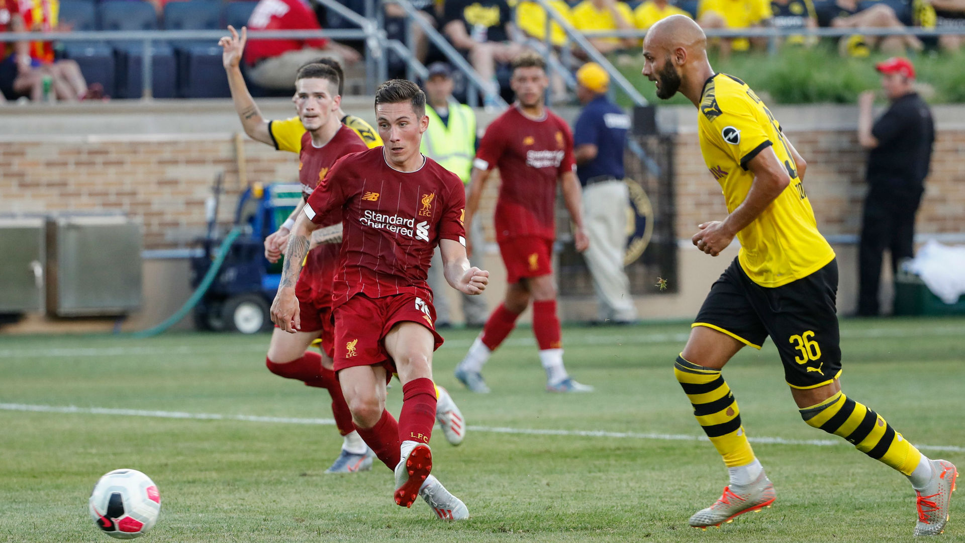 Borussia Dortmund tops Liverpool FC 3-2 in historic friendly