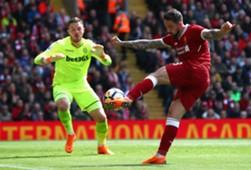 Danny Ings Jack Butland Liverpool Stoke City Premier League
