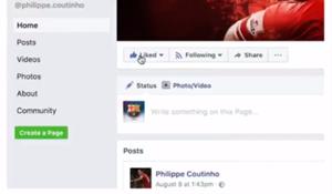 Coutinho facebook
