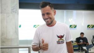 Diego Alves chegada Flamengo 17 07 2017