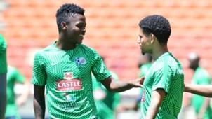 Bafana Bafana, Phakamani Mahlambi & Keagan Dolly