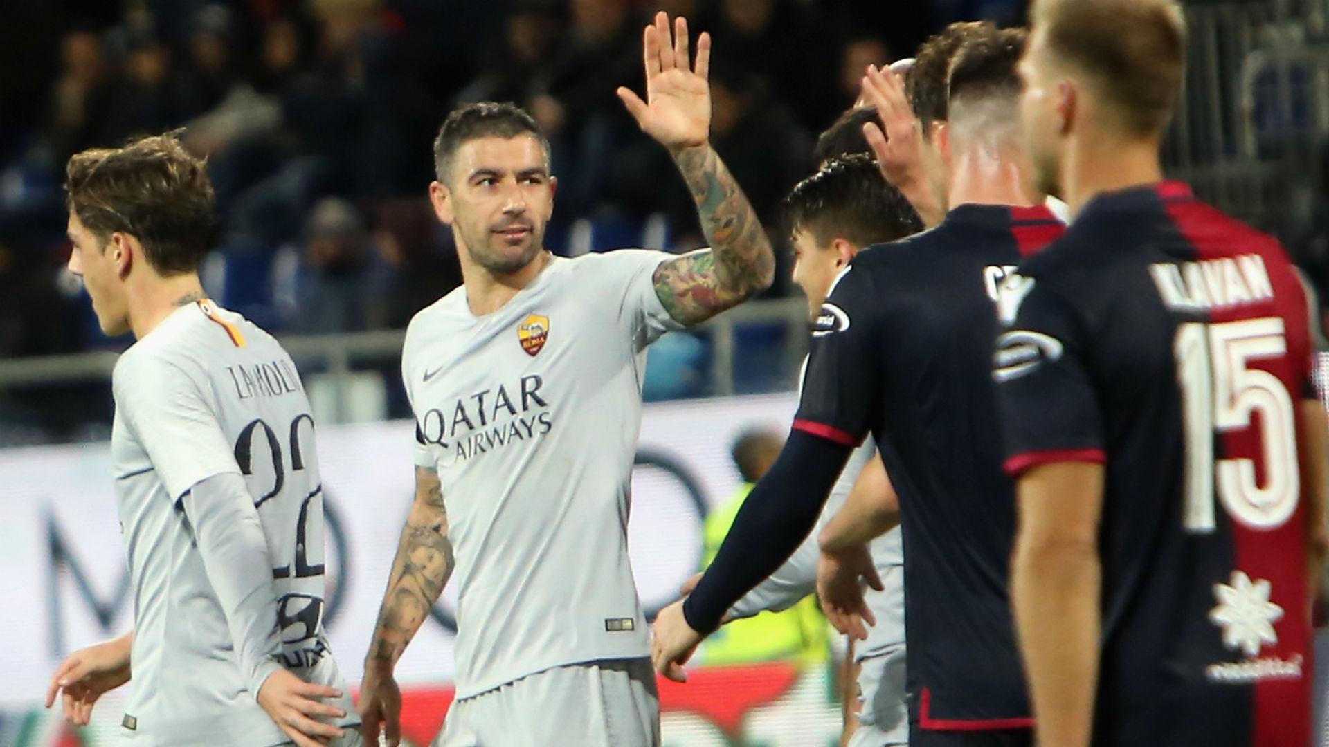 Serie A, Cagliari-Roma 2-2: i giallorossi buttano via altri due punti
