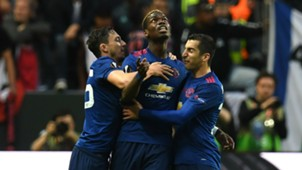 Paul Pogba Manchester United celebrate
