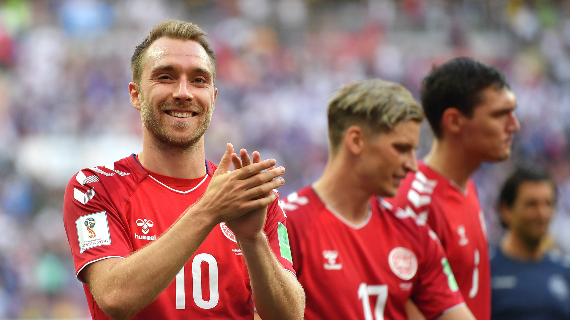 Christian Eriksen Denmark World Cup 2018
