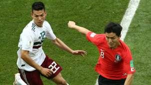 Ju Se-Jong Korea Hirving Lozano Mexico World Cup