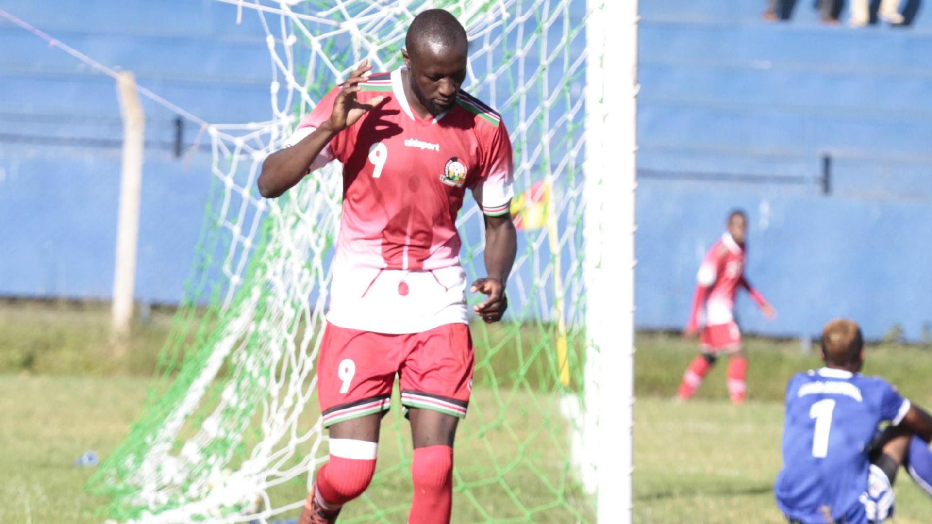 Pistone Mutamba of Harambee Stars.