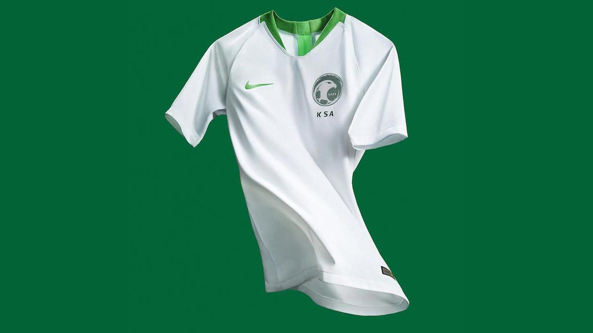 Arabia Saudita Camiseta Titular Saudi Arabia Home Kit 2018 dcf8b287814df