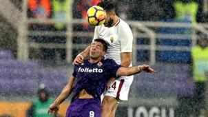 Manolas Simeone Fiorentina Roma Serie A