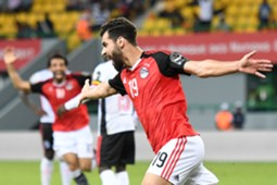 Egypt midfielder Abdallah El-Said