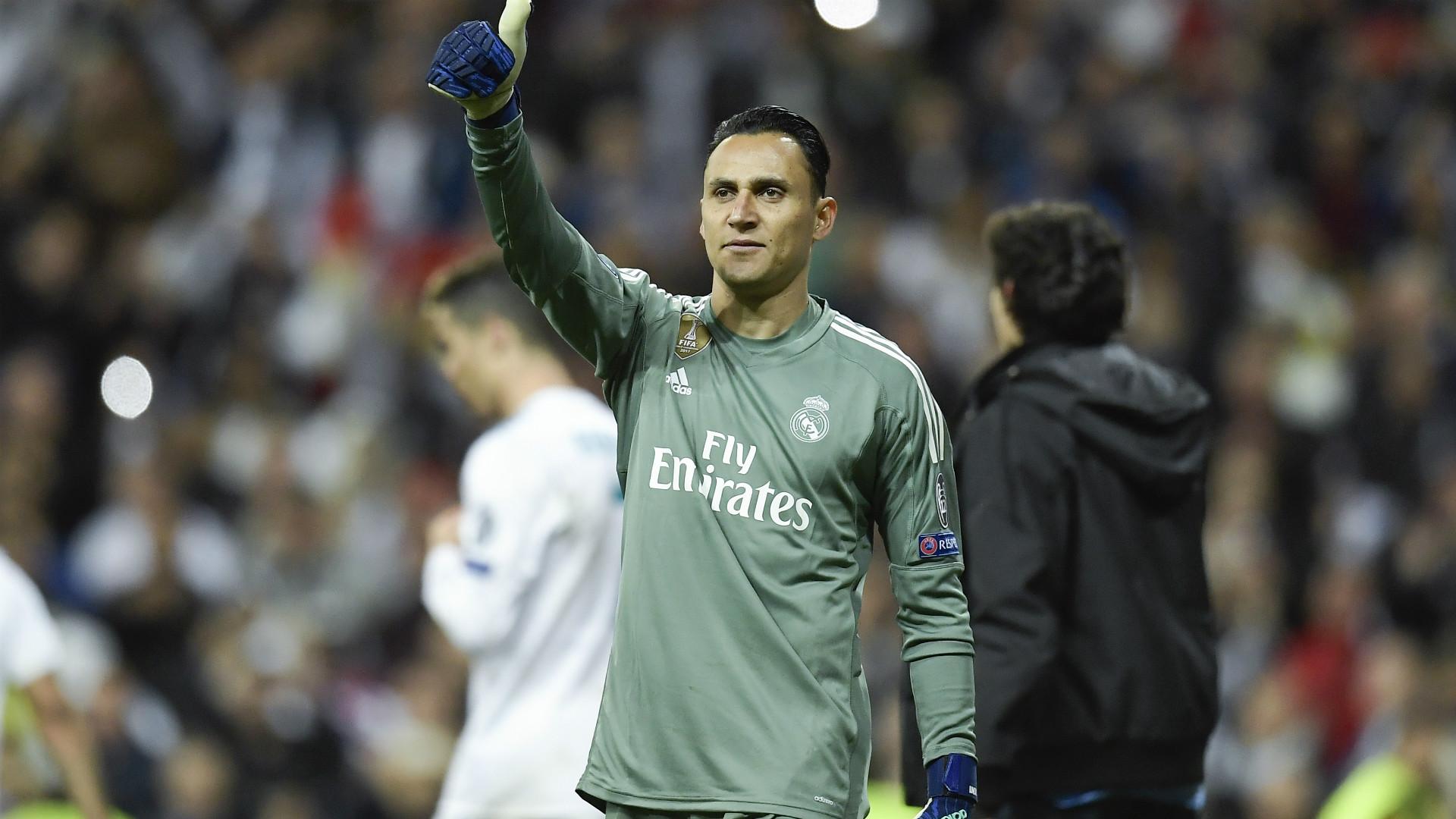 Keylor Navas Real Madrid 01052018