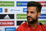 Cesc Fabregas Spain press conference