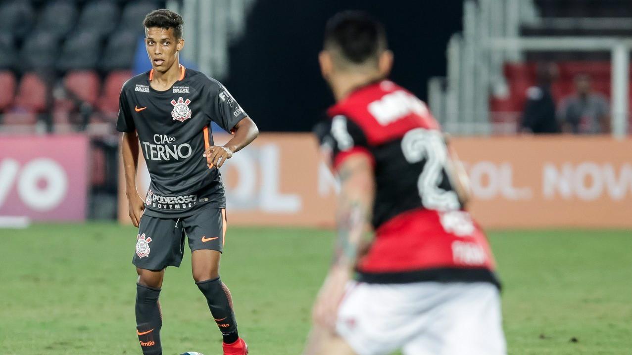 Pedrinho - Corinthians x Flamengo - 19/11/2017