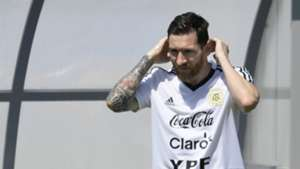 Lionel Messi Argentina Training 2018 World Cup