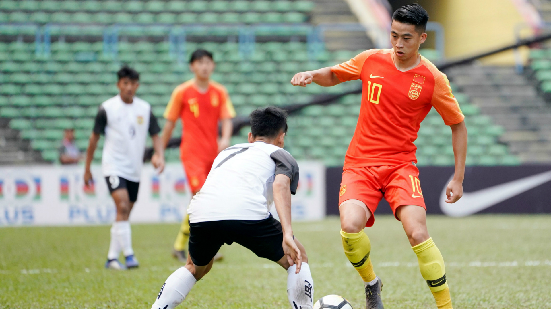 China U23 v Laos U23, AFC U23 Championship, 22 Mar 2019