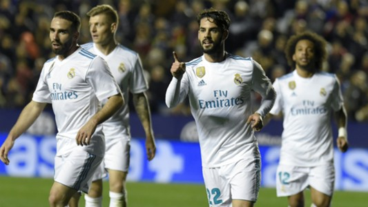 Isco Levante Real Madrid LaLiga