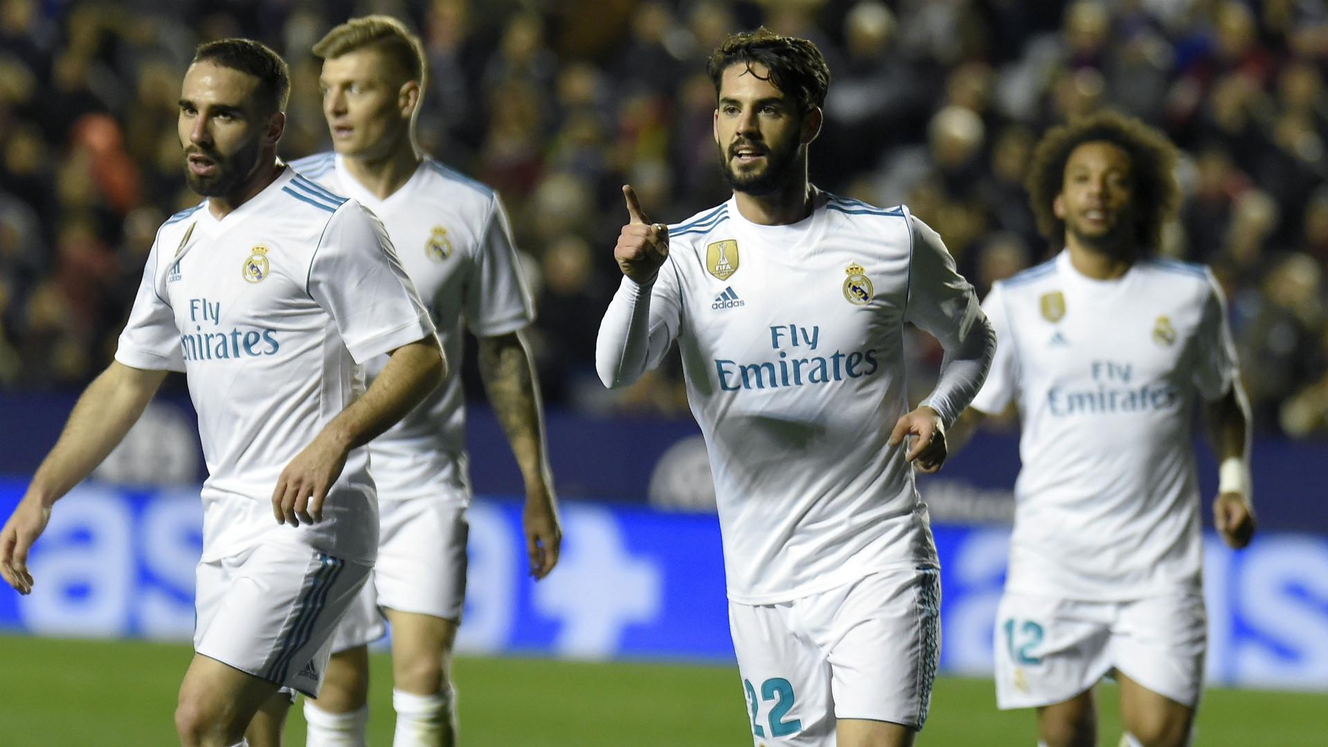 Isco Levante Real Madrid LaLiga
