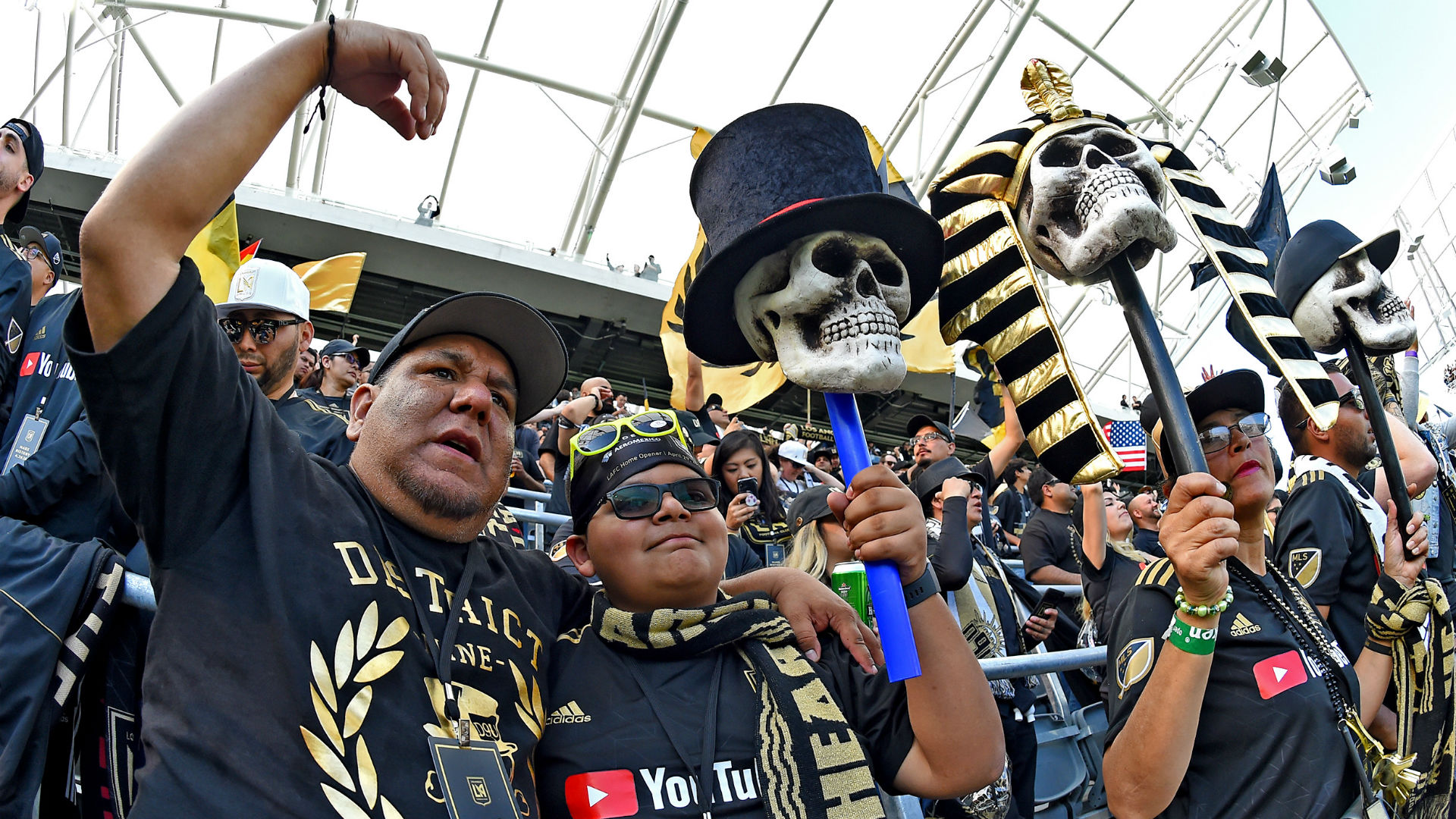LAFC Supporters MLS