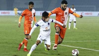 Ahmed Jahouh Delhi Dynamos FC Goa ISL 5 02042019