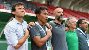 Kualifikasi Piala Asia U-23 2018: Luis Milla & Bima Sakti - Indonesia