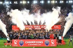 IN PICTURES: บุรีรัมย์ ยูไนเต็ด แชมป์ โตโยต้า ไทยลีก 2017