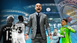 GFX Manchester City Pep Guardiola Umbau